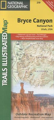 National Geographic Trails Illustrated Map Bryce Canyon National Park By Rand McNally and Company/ National Geographic Maps